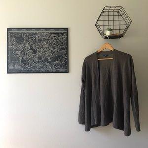 Grey/brown GAP cardigan
